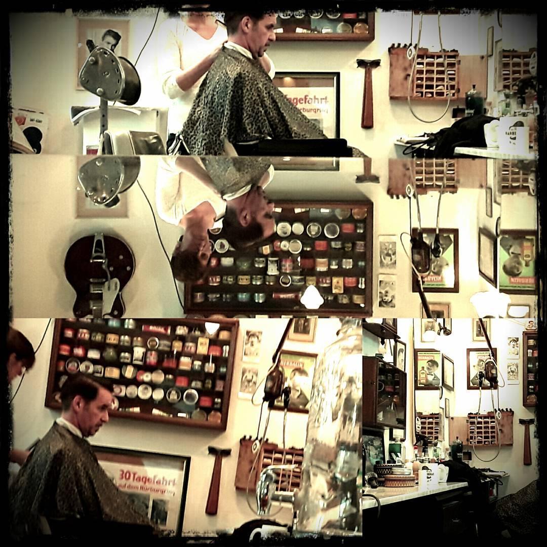 next gen of vintage hair dressur andrea welcome in our team cutcorner thebarbershop. Black Bedroom Furniture Sets. Home Design Ideas
